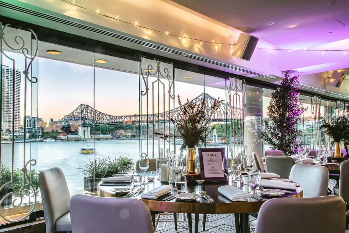 Wedding Reception Discover These Brisbane Riverside Venues