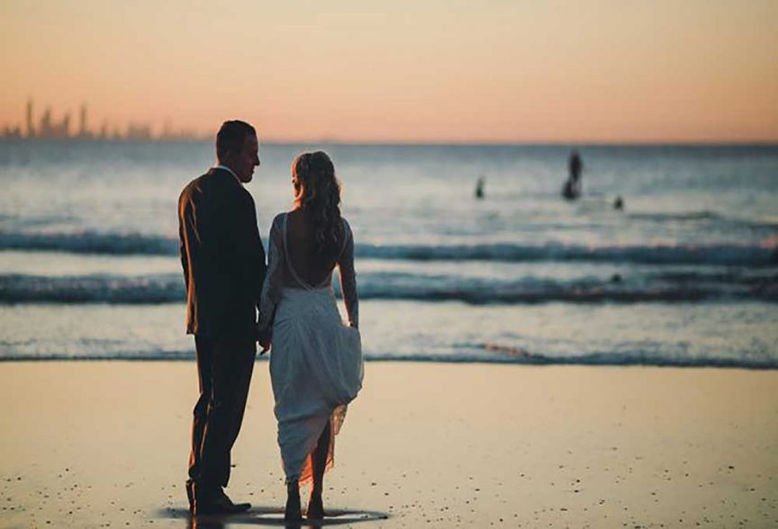 Best sun-kissed wedding photo spots on the gold coast