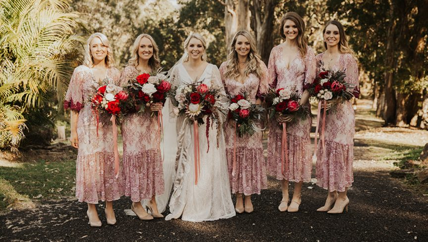 Bridesmaids dresses we're loving from
