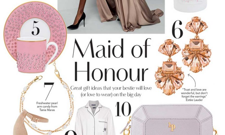 Maid of Honour gifts