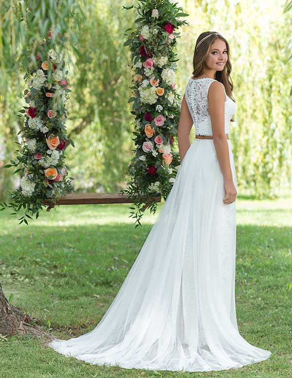 Lilian West lace back wedding gown from Spring Summer 2016 collection