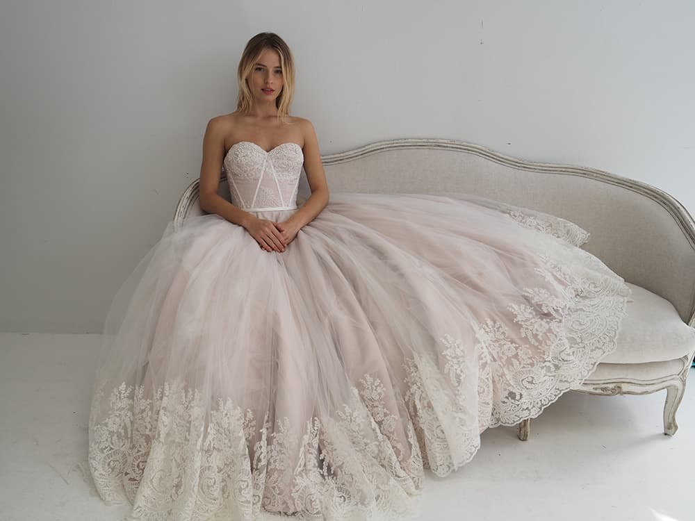 Jack Sullivan bridal gown.