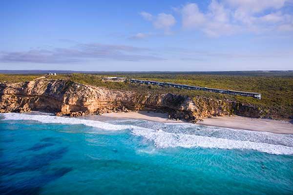 Australian honeymoon destination at Southern Ocean Lodge, Kangaroo Island.