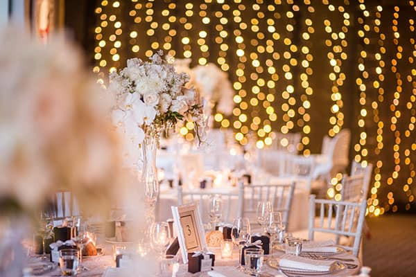 Small Wedding: an intimate reception