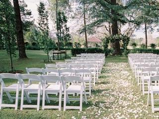 Gabbinbar Homestead outdoor ceremony space.