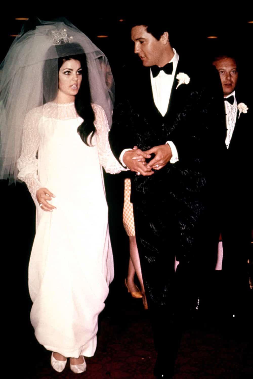 Wedding of Priscilla Presley.