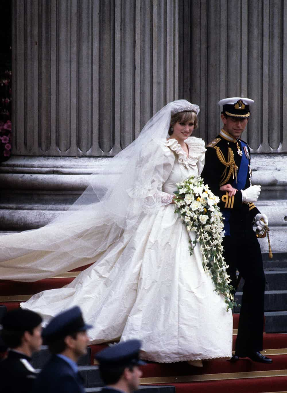 Wedding of Princess Diana of Wales.