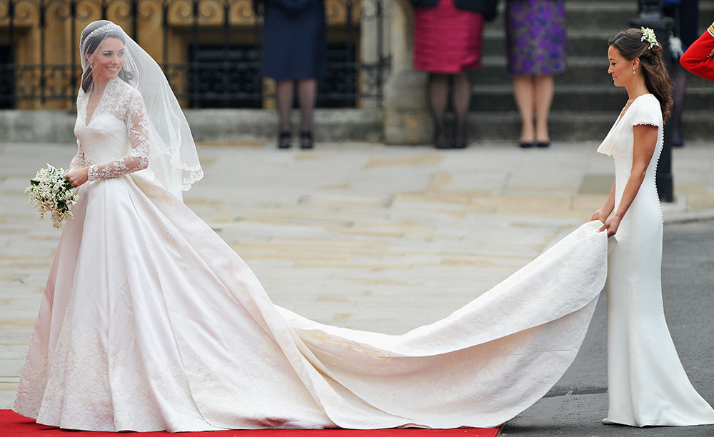 Wedding of Kate Middleton.