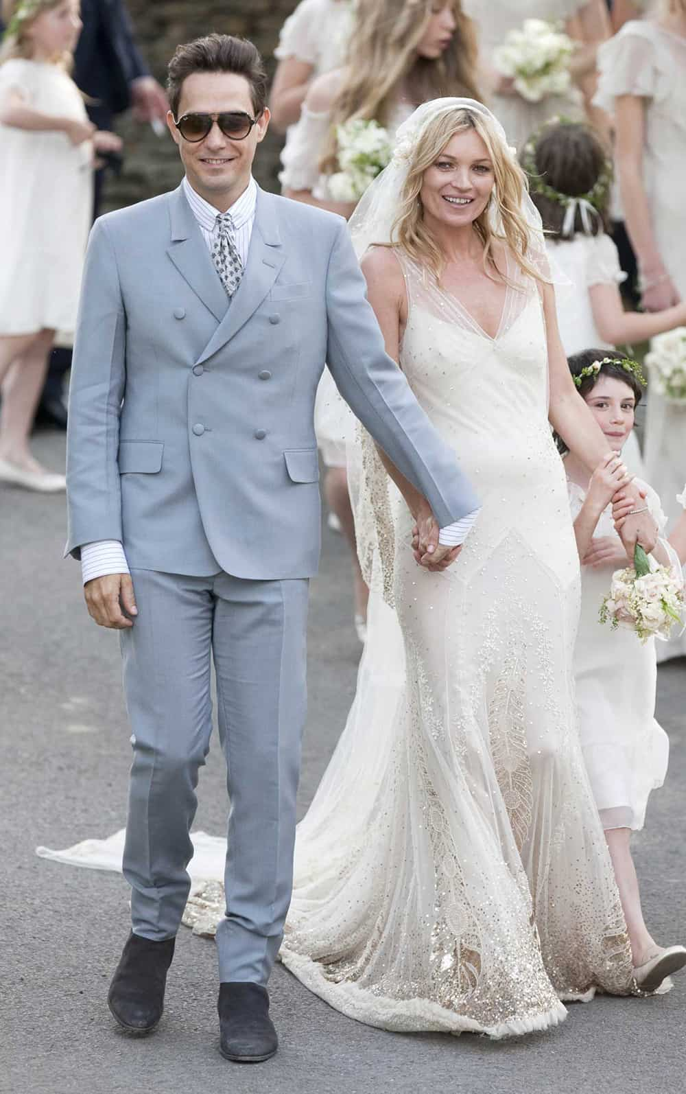 Wedding of Kate Moss.