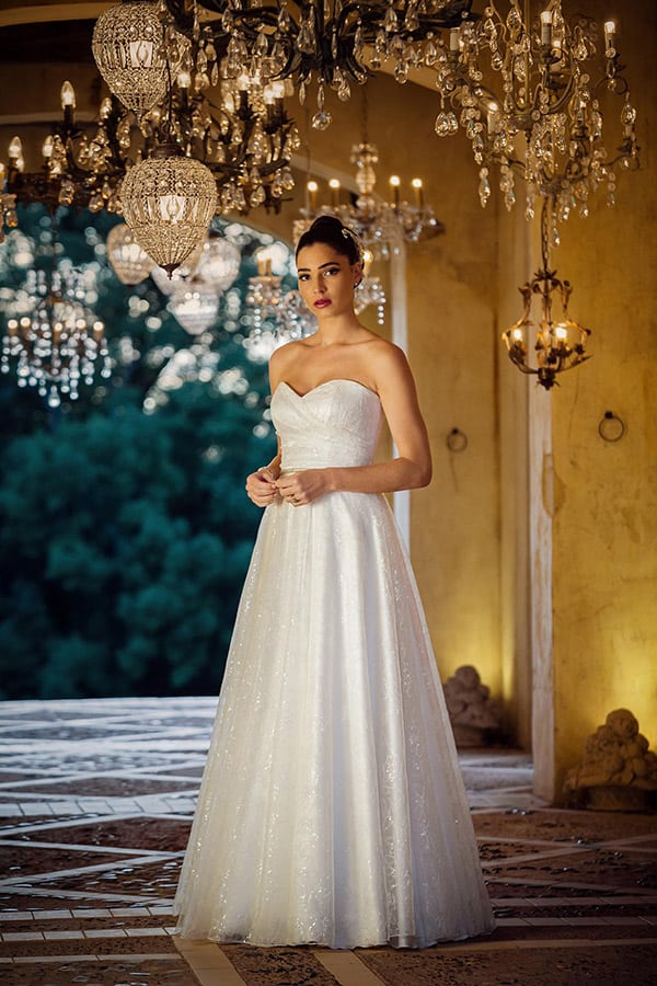 "The ""Sarah"" gown from Bertossi Brides french inspired bridal collection."