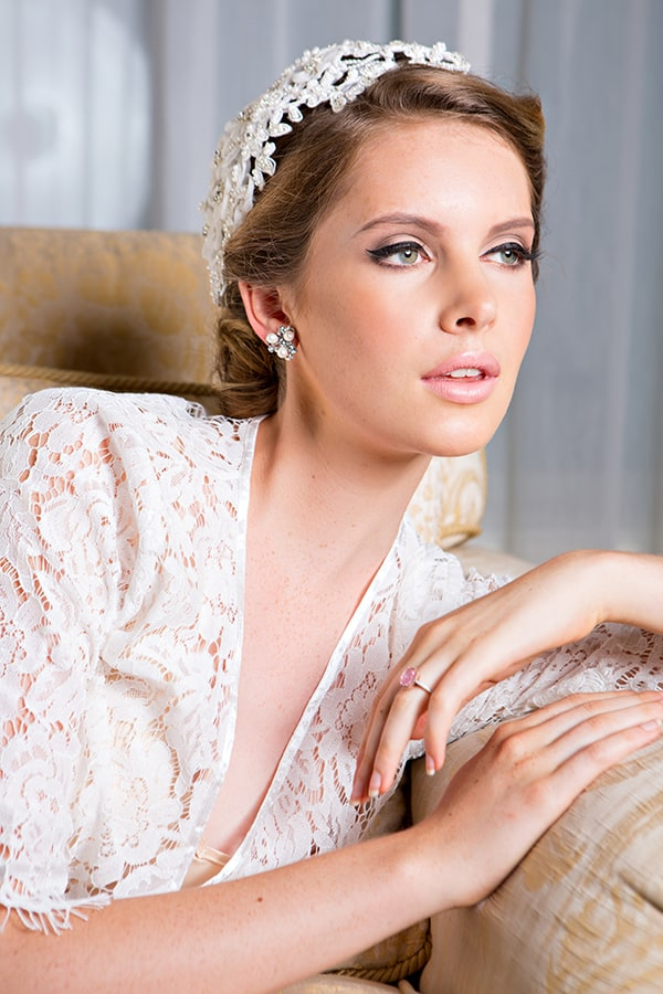 Camera ready bridal look from Smoke & Mirrors.