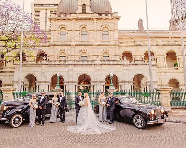 Bridal party shot.