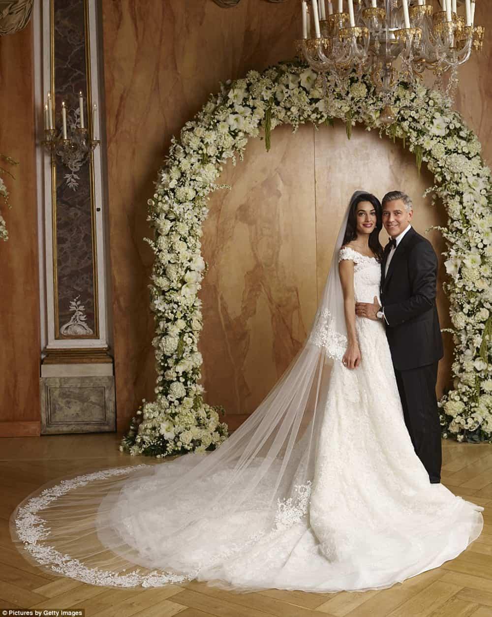 Wedding of Amal Clooney.