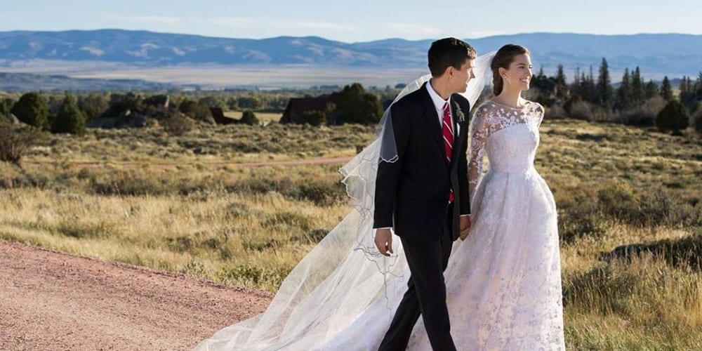Wedding of Allison Williams.
