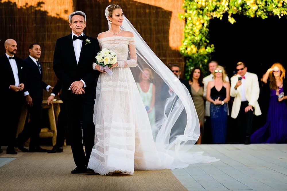 Wedding of Ana Beatriz Barros.