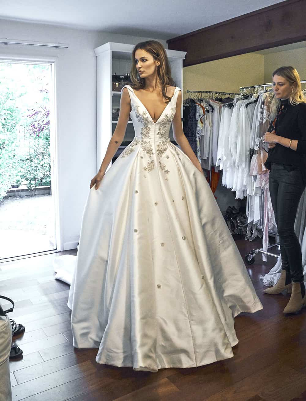 Wedding of Nicole Trunfio.