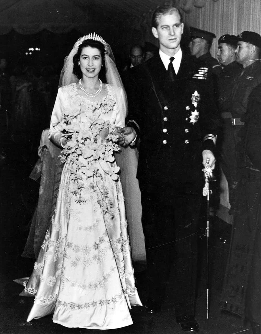 Wedding of Queen Elizabeth II