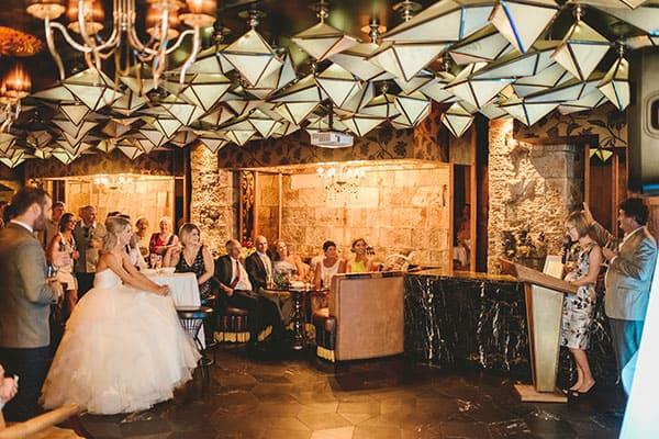 A small wedding: wedding speeches!