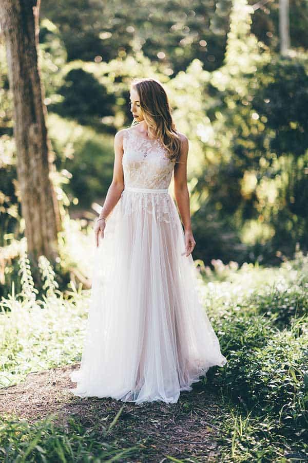 Larue gown by Wendy Makin and BellaDonna Bridal.
