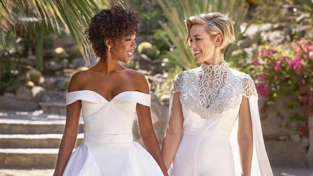 Wedding of Samira Wiley & Lauren Morelli.