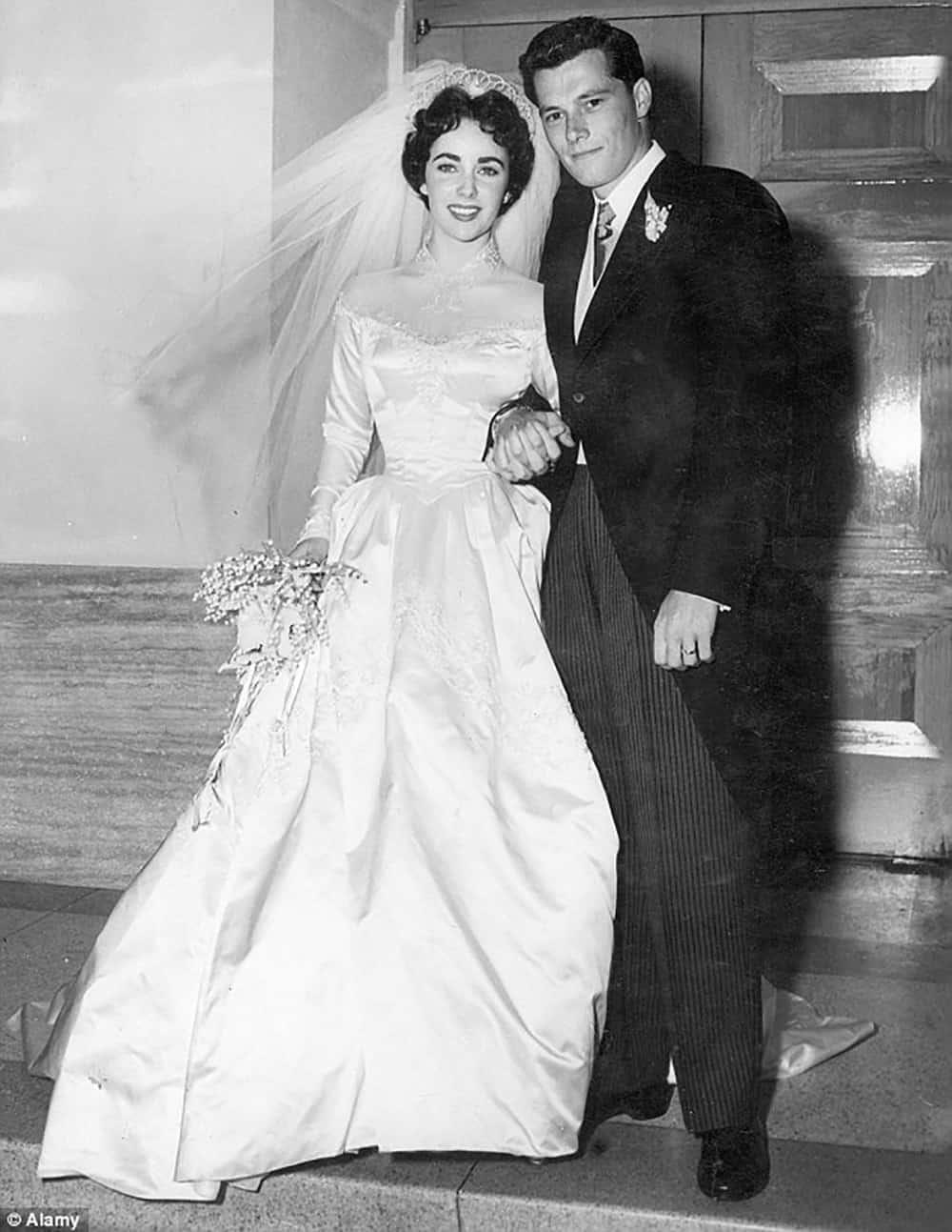 Wedding of Elizabeth Taylor.