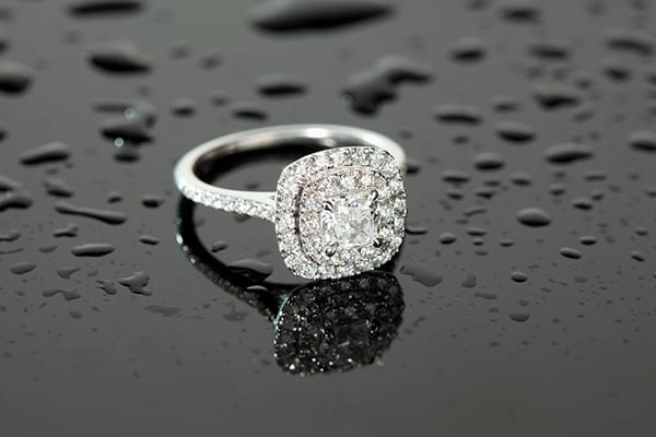 The 'Pillow' shaped diamond ring