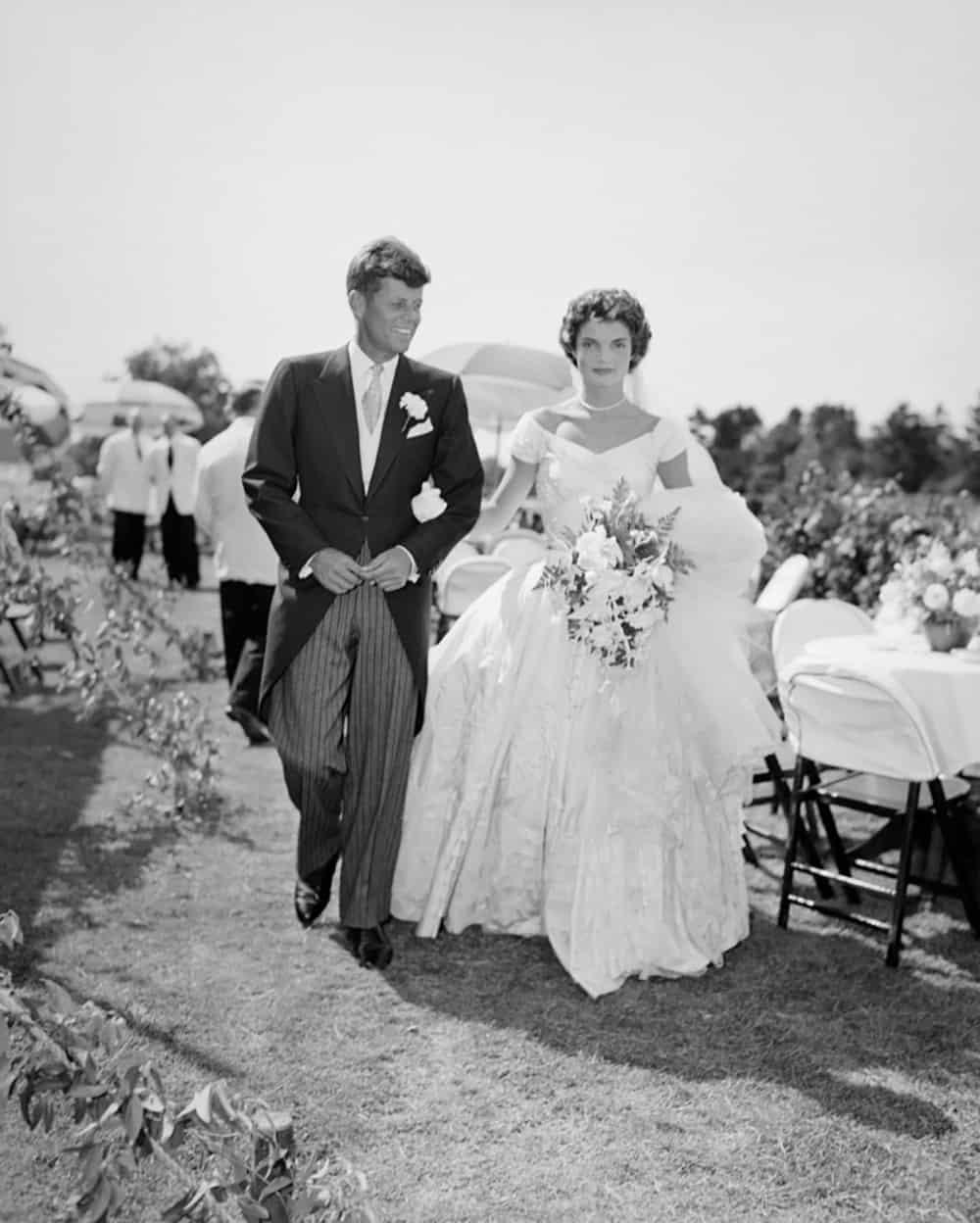 Wedding of Jacqueline Kennedy.