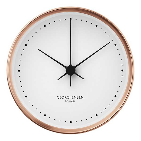 Georg Jensen Denmark Koppel Clock from Peter's of Kensington