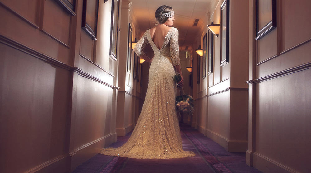 Helena Couture bridal gown.