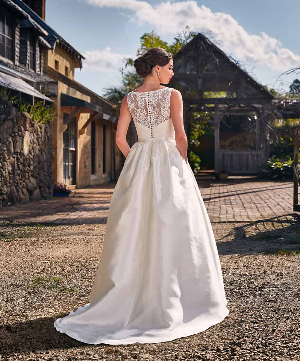 The Katherine gown from Bertossi Brides 16-17 collection.