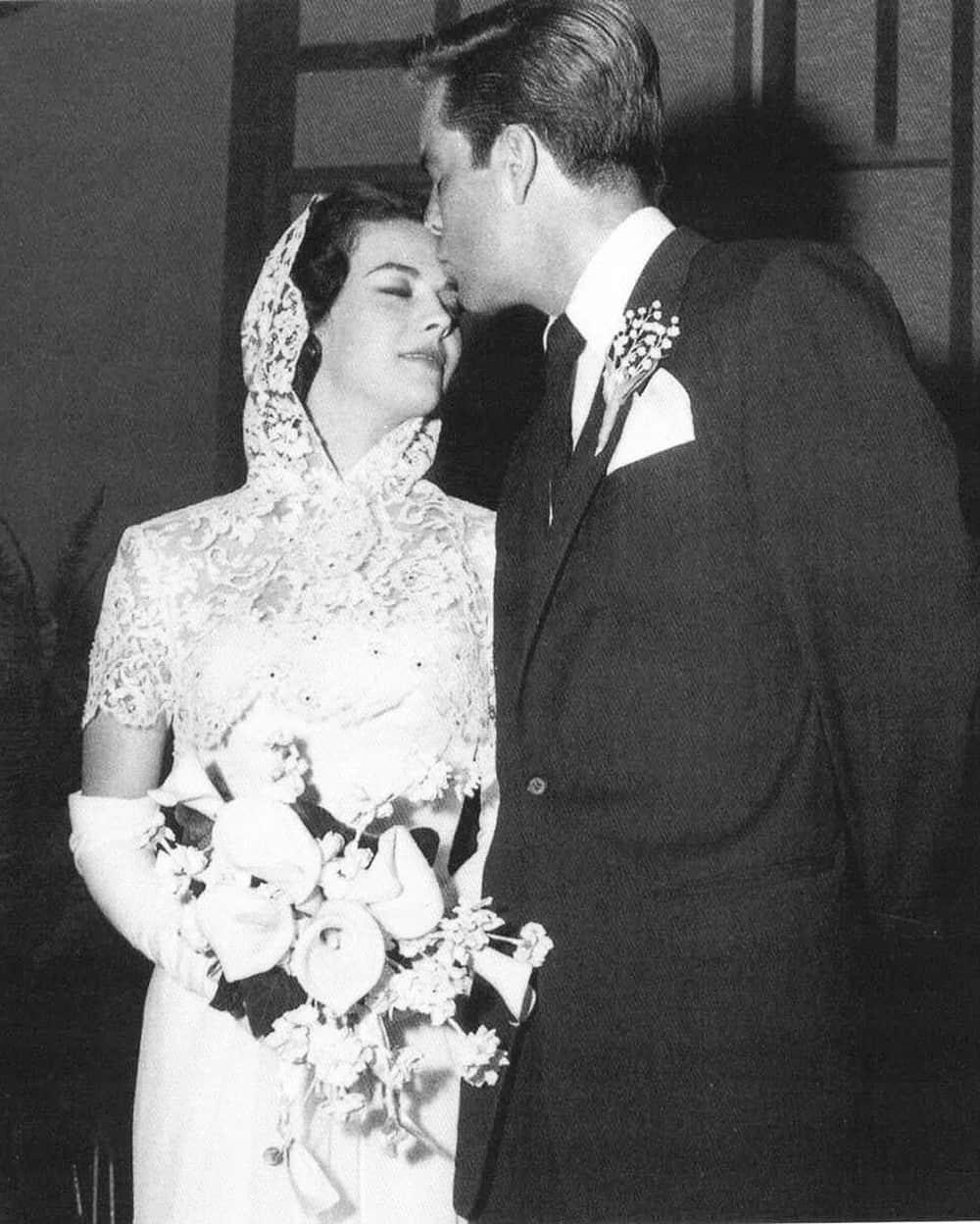 Wedding of Natalie Wood.