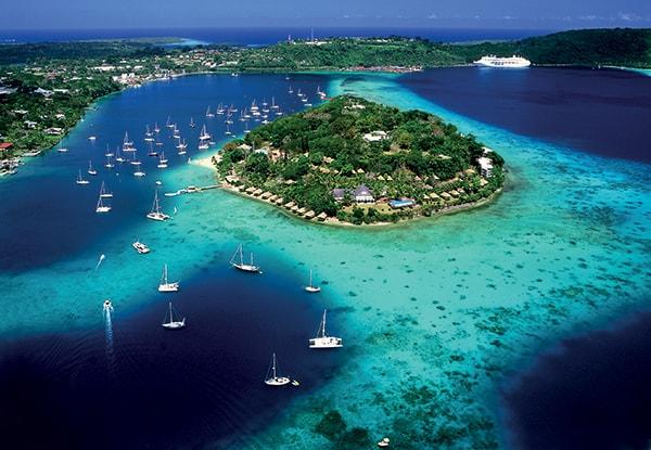Vanuatu as a honeymoon destination.