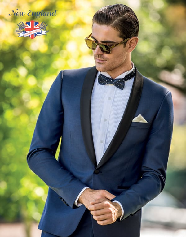 All blue everything. Groom style at Studio 196.