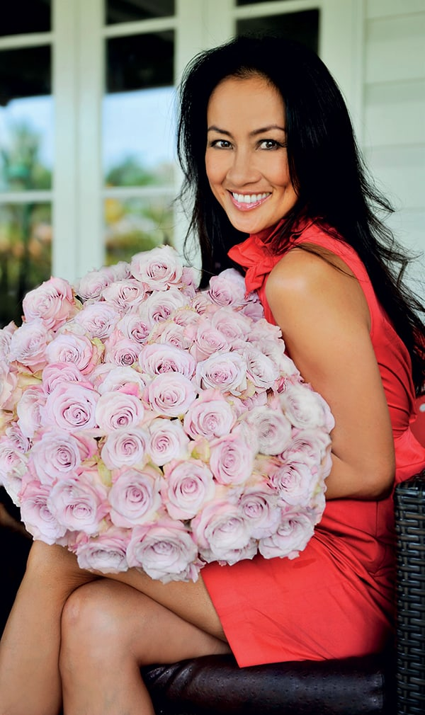 5 minutes with Queen of flowers, San Diego-based, Karen Tran