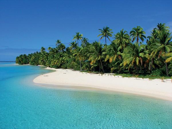 The Cook Islands as a honeymoon destination.