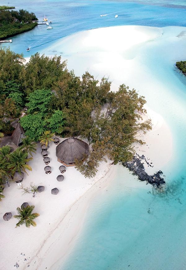 Mauritius as a honeymoon destination.