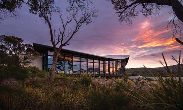 Australian honeymoon destination Saffire Freycinet, Coles Bay TASMANIA.