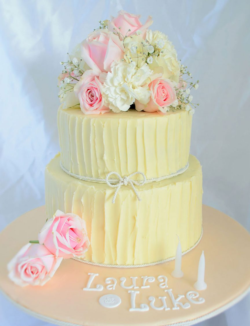 Delicious wedding cake by Cake My Day by Jo