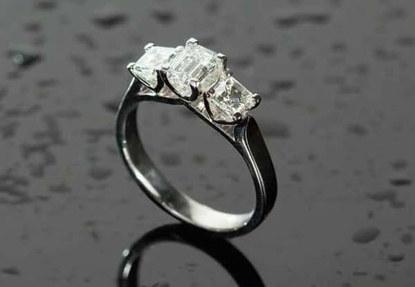 Diamond engagement ring from Clayfield Jewellery