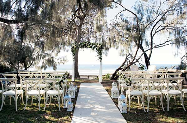 Casuarina Gardens, Noosa wedding ceremony venue.
