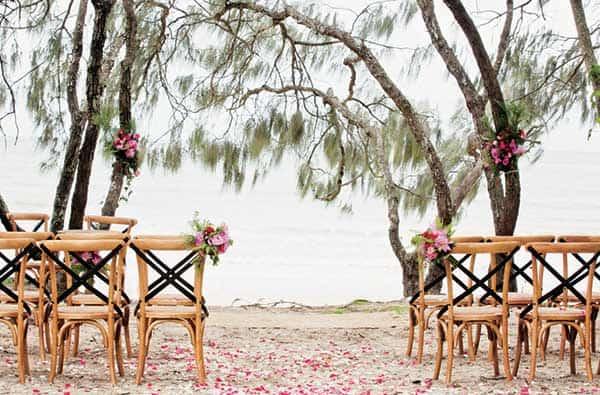 Hidden Grove is a popular outdoor venue for a Noosa wedding.