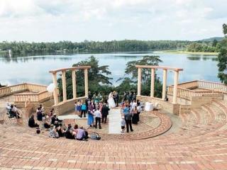 Noosa botanic gardens amphitheatre ceremony.