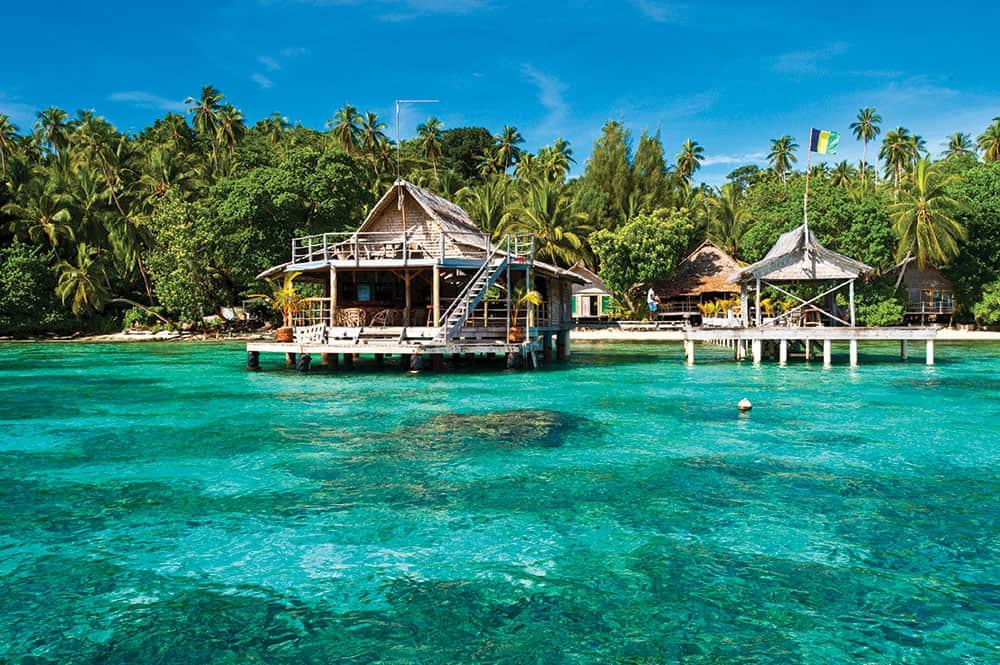 Honeymoon Solomon Islands: stay at Tavanipupu Private Island Resort