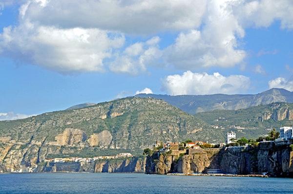 Capri as a honeymoon destination.