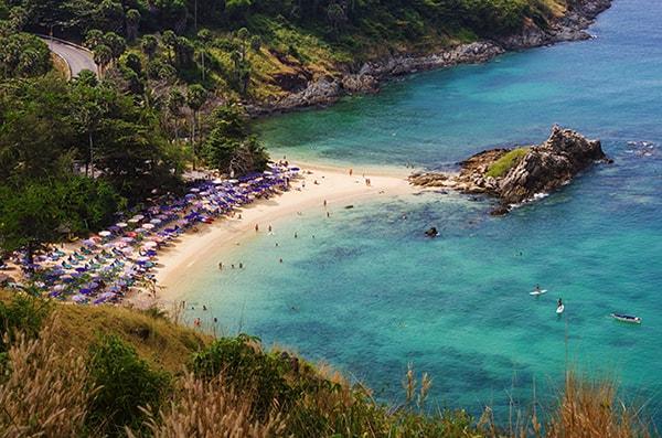Phuket as a honeymoon destination.