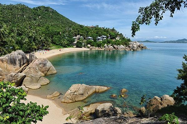 Koh Samui as a honeymoon destination.
