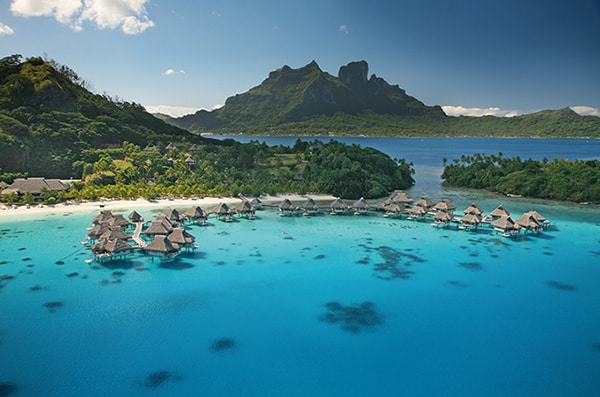 Tahiti and her islands as a honeymoon destination.