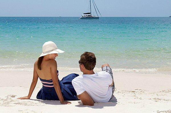 The Whitsundays as a honeymoon destination