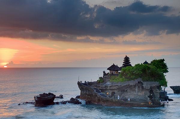 Bali as a honeymoon destination.
