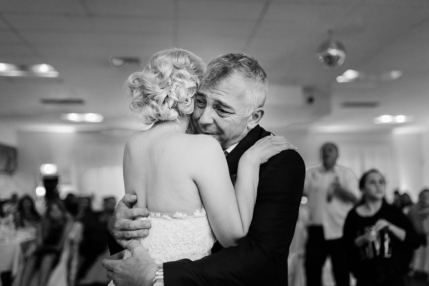 Father + daughter wedding dance